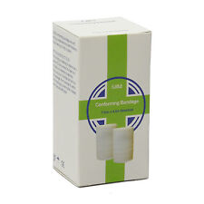 Case of 6 Boxed Cotton Conforming Strong Soft & Stretchy Bandage 7.5cm x 4.5m
