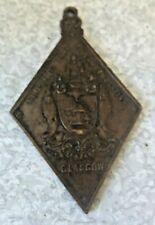 ANTIQUE MEDAL - CHILDRENS FETE COMMEMORATION -GLASGOW - QUEEN VICTORIA 1897