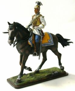 Tin soldier,Officer of the Cuirassier Life Guards, 1914, 54mm