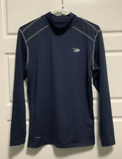 Pro Player Perform Dri Navy Blue Long Sleeve Mock Turtleneck Sz M