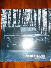 Land Rover Defender Accessories brochure 2002 ref LRML 1867