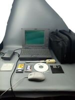 RARE Zenith Data Systems Z Note Flex COMPLETE AND WORKING WITH BAG AND EXTRAS