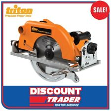"Triton 230V 240V 1200W 9-1/4"" Circular Saw 235mm - TSA001"