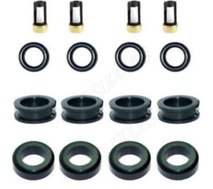 Fuel Injector Repair Kit Filters Seals O-Rings Grommets for Mitsubishi