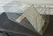 "Live Animal Trap Xl Heavy Duty Rodent Cage Rabbit Raccoon Cat 31"" x 12"" x 12.5"""