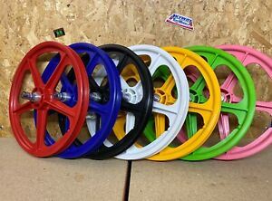 "SKYWAY Tuff 2 WHEEL 20"" X 1.75 OLD SCHOOL BMX BLACK WHITE RED YELLOW GREEN PINK"