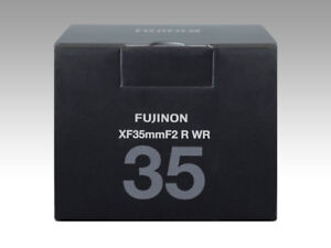 FUJIFILM Fujinon single focus Lens XF 35mm F2 R WR B (Black) New in Box DHL Fast
