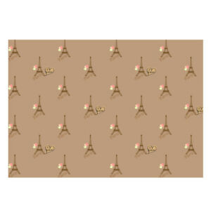 High Quality Paris & Balloon Design Gift Wrapping Paper-Size A3 - GP-124
