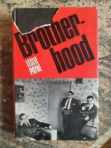 The Brotherhood Krays Ron Reg Kray Crime Gangster Book Leslie Payne
