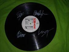 U2 fully signed War Vinyl LP Record