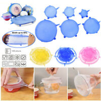 Reusable Silicone Stretch Pot Lids Wrap Bowl Seal Cover Kitchen Keep Food Fresh