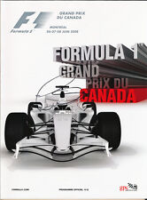 Lewis Hamilton Signed 2008 Canadian F1 Grand Prix Program / Programme
