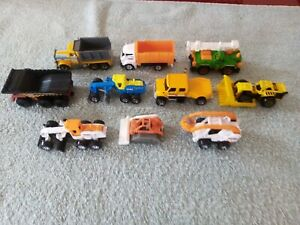 Matchbox - 1-100/125 - Unboxed - Lot of 10 - Construction Vehicles