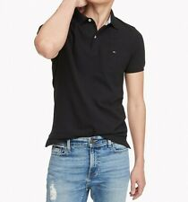 NWT Men's Tommy Hilfiger Short-Sleeve Stretch Slim Fit  Polo Shirt Size  S - XXL