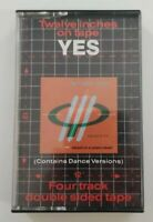 Yes Twelve Inches On Tape Audio Cassette 1984 ATCO Records