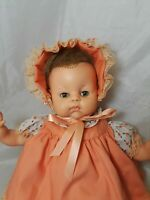 "Horsman Baby Doll Vintage  17"" Tall  Circa 1960's"