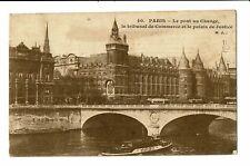 CPA-Carte postale-FRANCE Paris-Pont au Change-Palais de Justice- S4310
