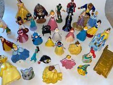 Disney Princess Mixed LOT Figures PVC Belle Cinderella Ariel Beast Aurora Fairy