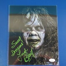 More details for linda blair signed regan macneil 8x10 photo the exorcist jsa coa horror