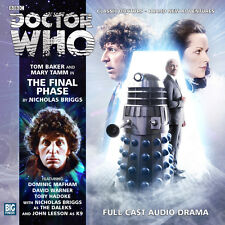 DOCTOR WHO Big Finish Audio CD Tom Baker 4th Doctor #2.7 THE FINAL PHASE