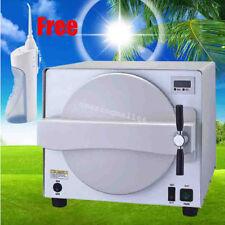 18L Medical Steam Sterilizer Autoclave Dental Lab Equipment +Gift Oral Irrigator