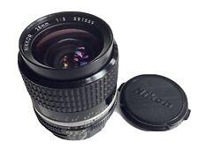 Nikon Nikkor 28mm f/2 Ai-S Wide Angle Lens