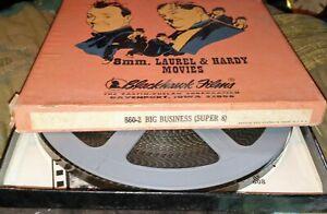 Blackhawk Films 8mm Laurel & Hardy Big Business SUPER 8