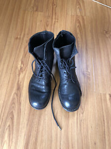Dirk Bikkembergs Leather Lace Up Boots Size 38 EUR