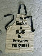 """Chef's Apron - """"It's Kind Of A Dump, But Everyone's Friendly"""""""