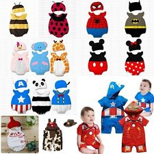 Baby Boy Girl Halloween Fancy Dress Party Costume Outfit Clothes+HAT Set Props