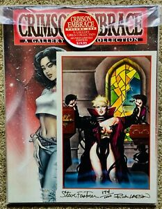 """Crimson Embrace Vol. 1 """"A Gallery Girls Collection (Signed/Numbered) VF/NM"""