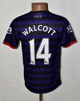 ARSENAL LONDON 2012/2013 AWAY FOOTBALL SHIRT JERSEY NIKE WALCOTT #14 SIZE S