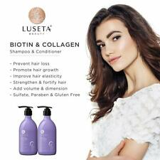 Luseta Biotin & Collagen Shampoo & Conditioner Set Thickening for Hair Loss