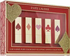New Estee Lauder Limited EDITION Lipstick SET  Pure Color Envy 5 Pcs. FULL SIZE