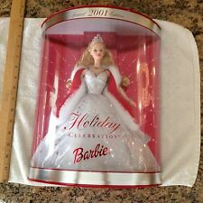 2001 Holiday Celebration Barbie Special edition, never opened