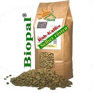 500 g India Cherry  Roh - Kaffee - Bohnen zum selber rösten  Biopal®