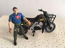 Jurassic Park 3 Hasbro Figurine Dr Alan Grant Moto