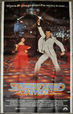 SATURDAY NIGHT FEVER '77 ORIG 41X81 3-SHEET MOVIE POSTER JOHN TRAVOLTA K. GORNEY