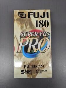NEW & SEALED Fuji 180 Super VHS PRO