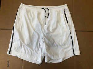 Lululemon White Athletic Shorts with Liner Very Good Condition (Men's XL)
