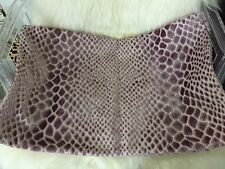 Reptilian 54, Studio J, Lavender Velvet Pillow Cover 16x24