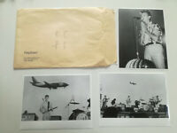 DAVID BOWIE*3X ORIG. SPAIN PROM0 PHOTOS + ENVELOPE*ARCHIVE OF POLYGRAM 1980-90s