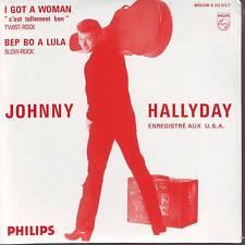 CD 2 titres JOHNNY HALLYDAY *** I GOT A WOMAN ** BEP BO A LULA n°60