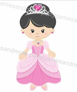 PRINCESS BABY SHOWER BIRTHDAY FAVOR HERSHEY'S NUGGET OR KISS CANDY LABEL WRAPPER