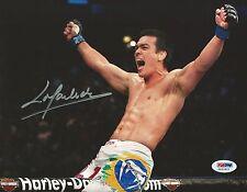 Lyoto Machida Signed UFC 8x10 Photo PSA/DNA COA Autograph Picture 157 129 104 98