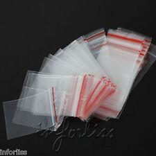 100 Bolsas plastico cierre hermetico 40 x 60 mm - ziplock