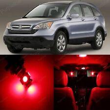 8 x Red LED Lights Interior Package For Honda CR-V CRV 2007 - 2012 + PRY TOOL