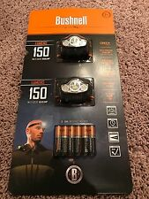 New Bushnell Multi Color LED Headlamp 2 Pack. 150 Lumens! Great For Camping