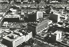 1964 Foster Aerial Photo RODEO DRIVE Sloane Bldg BEVERLY WILSHIRE HOTEL 16x20 W1