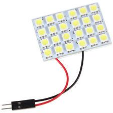 4W 24 SMD 5050 LED White Light 12V Panel Car Interior Dome Light
